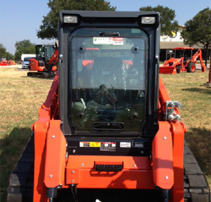 Tractor Guard Skid Steer Window Protection