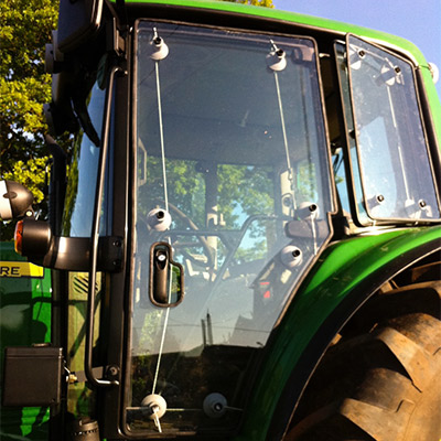Tractor Guard Window Protection